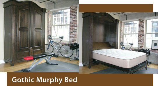 Gothic Murphy Beds