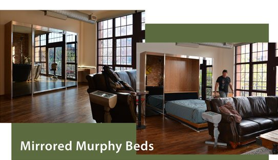 Murphy Bed With Mirror