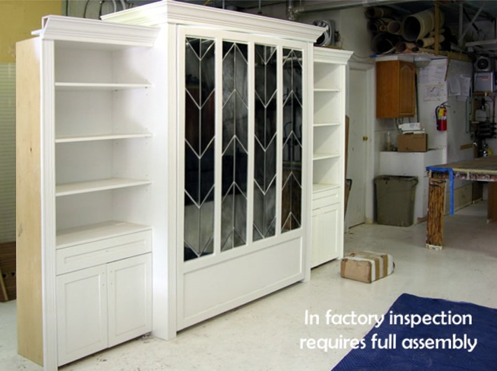 Murphy Bed with Mirror front