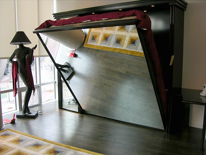 Mirrored Murphy Beds by FlyingBeds   Custom Murphy Beds with