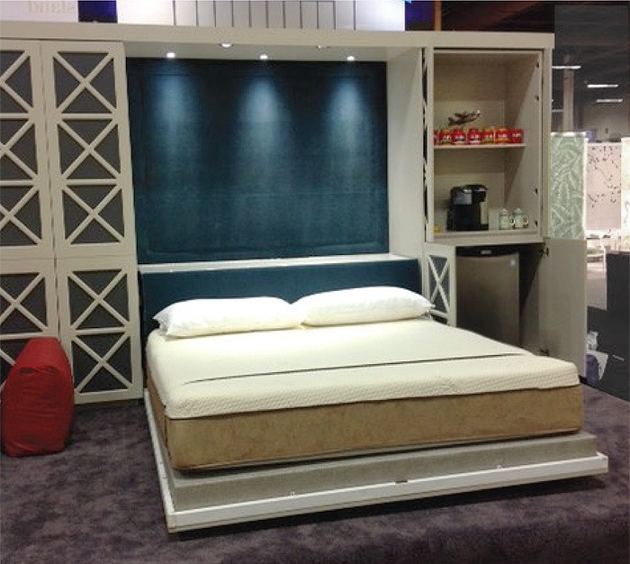 Designer Motif Murphy Bed Flying Beds Has The