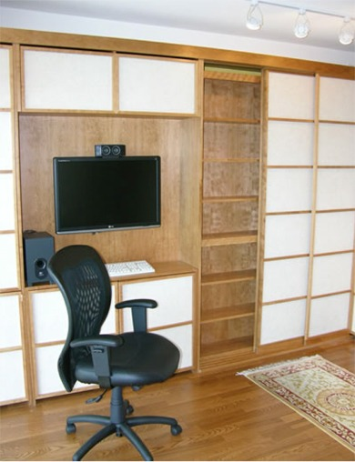 Japanese Theme Murphy Bed Custom Shoji Bed Flyingbeds