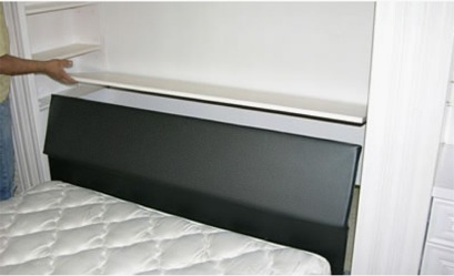TableBed_WhtLacquer_HIddenStorage