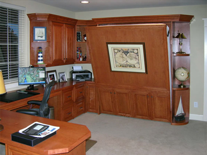 Home Office Murphy Bed