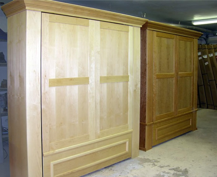 Custom Armoire Murphy Beds Timbers Murphy Bed Armoire Flyingbeds