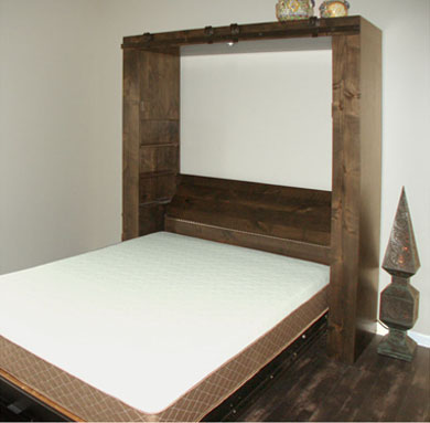 Barn Door Murphy Bed