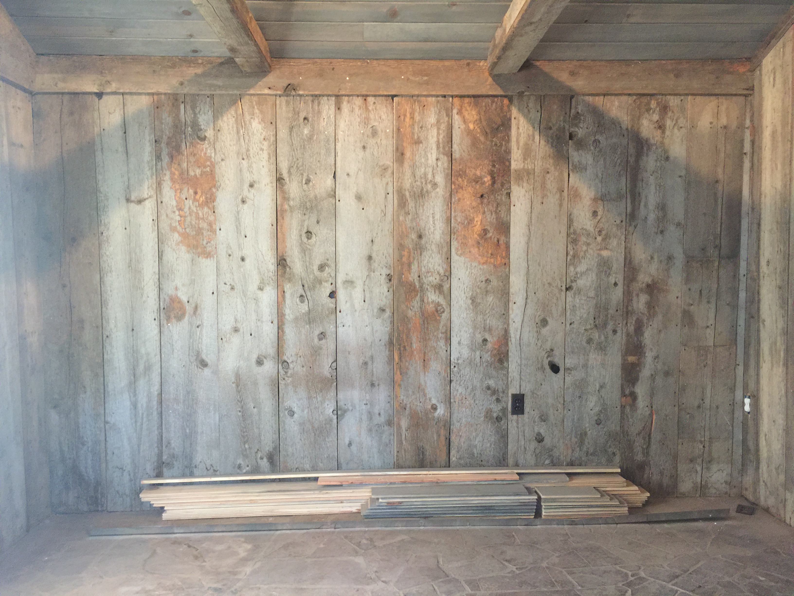 Reclaimed Wood Murphy Bed Wyoming Snow Fence Murphy Bed