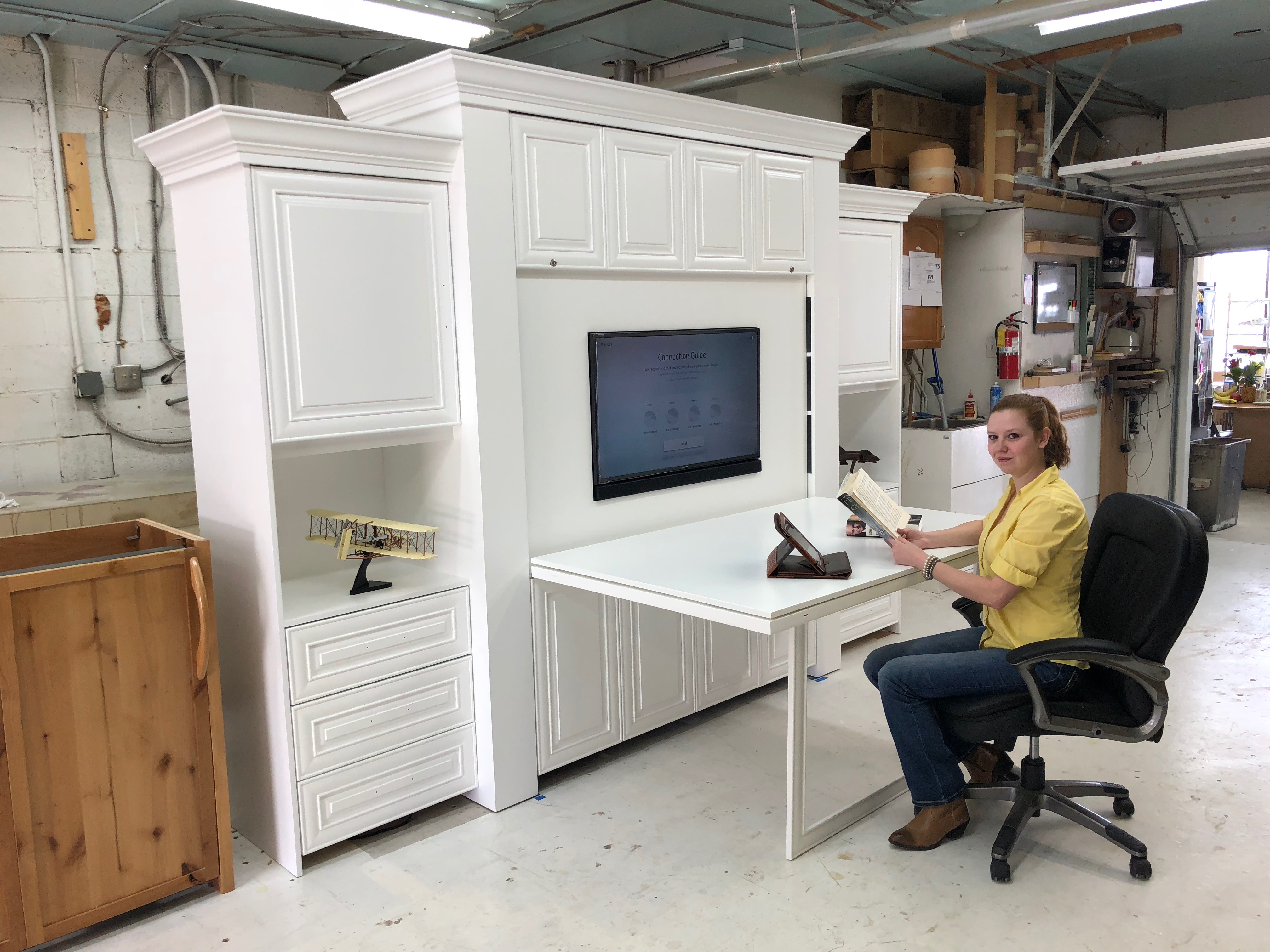 custom tv murphy beds - television murphy bed